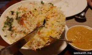 Gudgudee | Paneer Tikka Biryani
